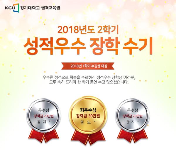 경기대학교 원격교육원 2018년 2학기